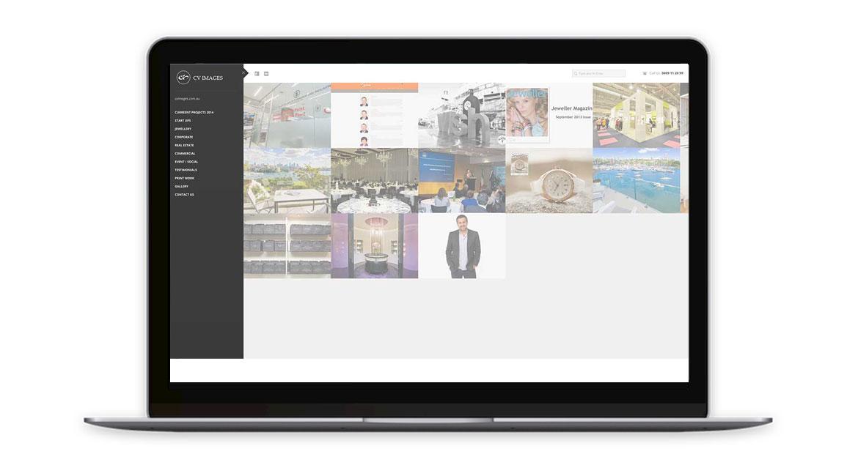 CV Images Website Design