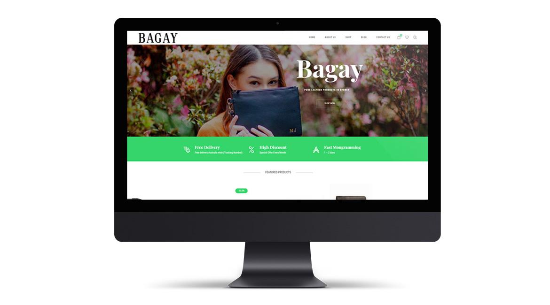 Bagay Fashion Website Design