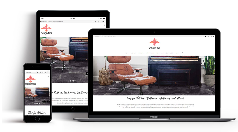Design Tiles Website Design