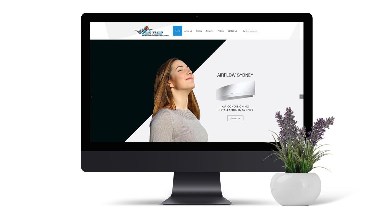 Airflow Sydney - Website Design