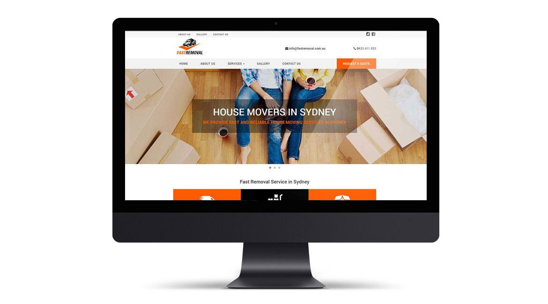 Fast Removal Website Design