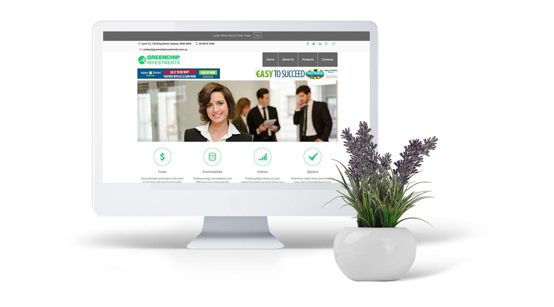 Greenchip Investments Website Design