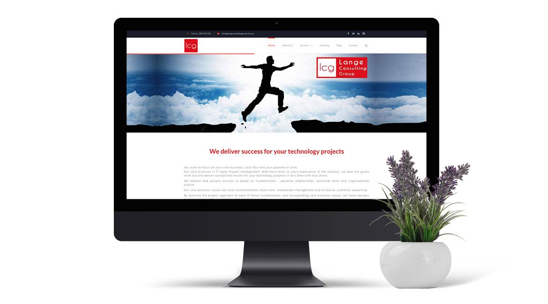 Lange Consulting Group - Website Design