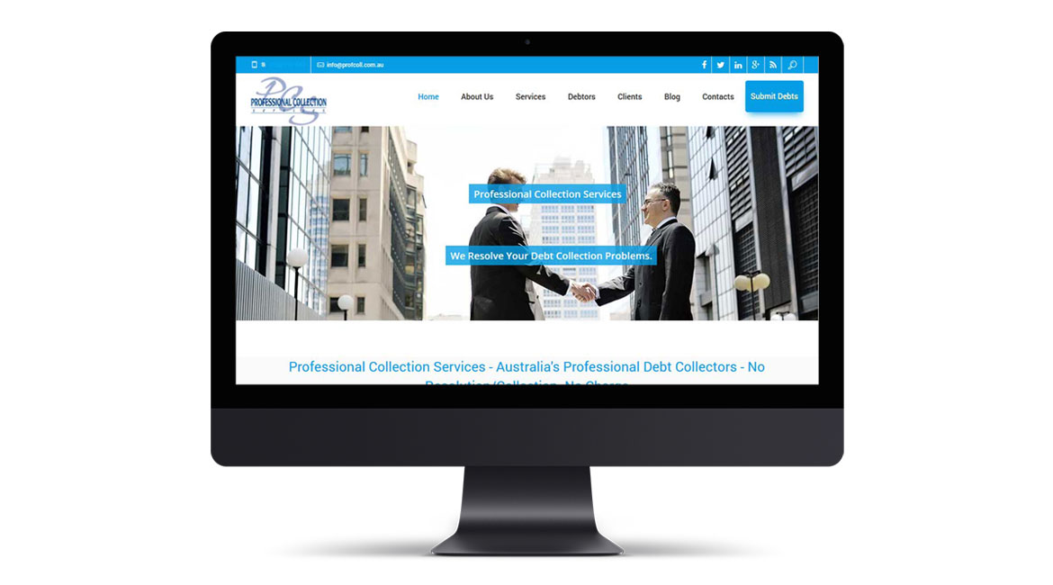 Professional Collection Website Design