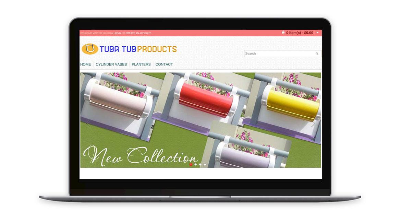 Tubatub Products - Homepage