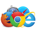 Browser compatible websites