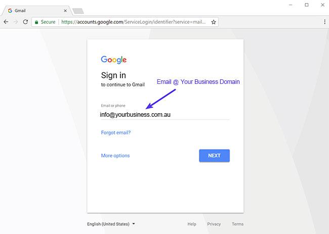 Custom Gmail Setup