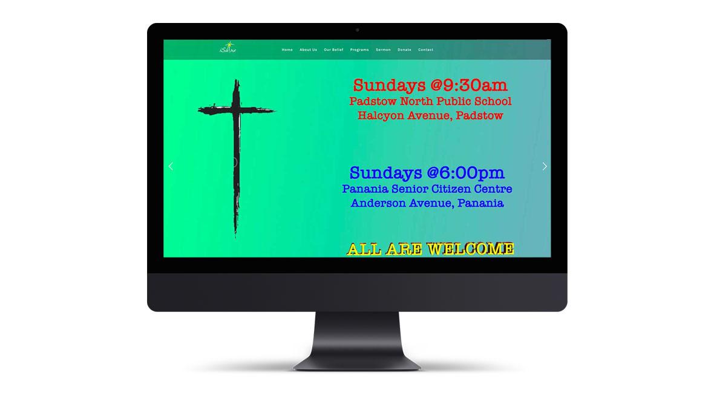 iShine Church Website Design