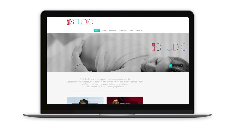 Posh Studio Website Design