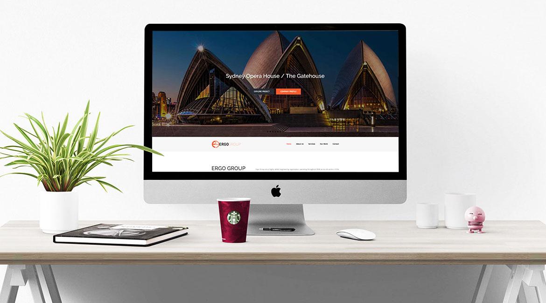 Ergo Group Website Design