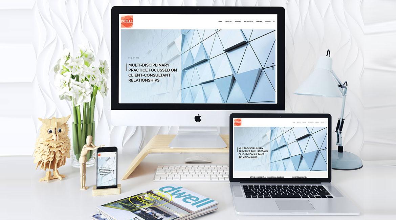 Intelle Website Design