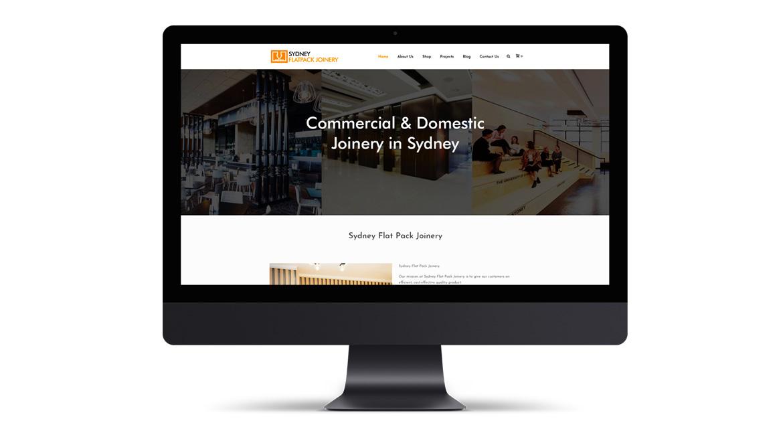 eCommerce Development for Sydney Flat Pack Joinery - EG