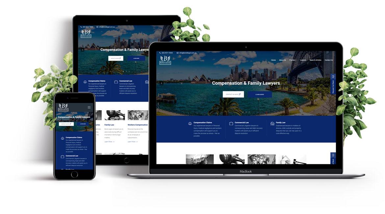 Bond Legal Website Design