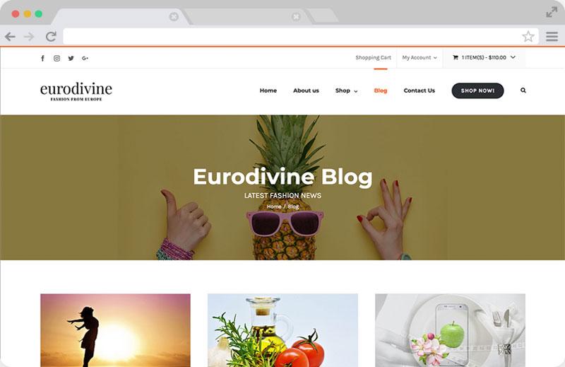 Eurodivine Blog Page