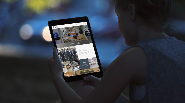 Graphite Projects Website Design