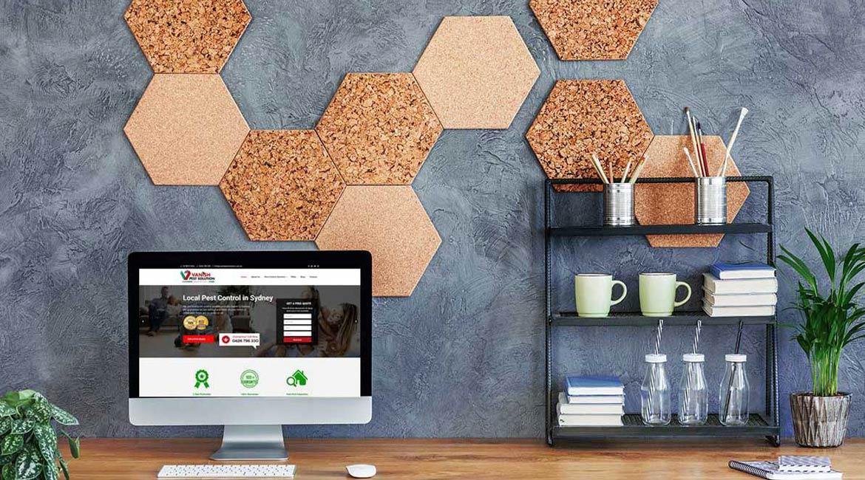 Vanish Pest Solution Web Design