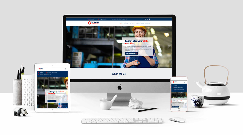 Widen Consultancy Website Design
