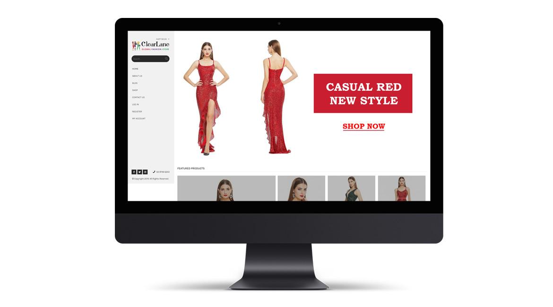 Clearlane Website Design