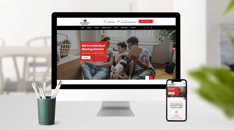 Runwheels Website Design