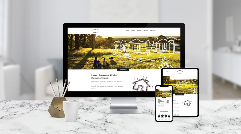 Avenue Property Website Design