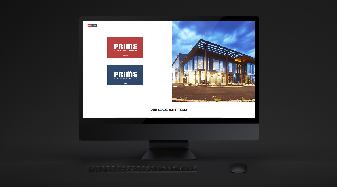 The Prime Group - Landing Page