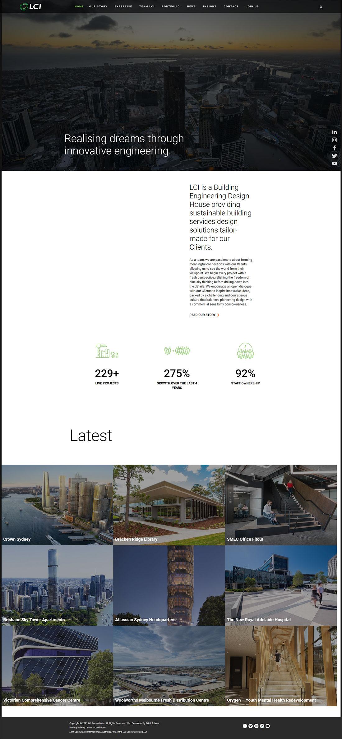 LCI Consultants Homepage